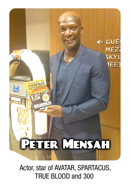 Actor Peter Mensah